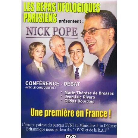 DVD - Les Repas Ufologiques - Nick Pope