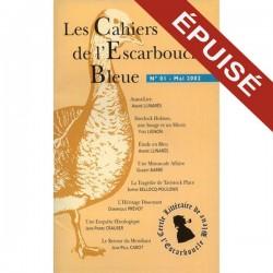 Les Cahiers de l'Escarboucle Bleue - Numéro 1
