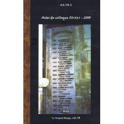 Actes du Colloque d'Études & de Recherches sur Rennes-le-Château 2008