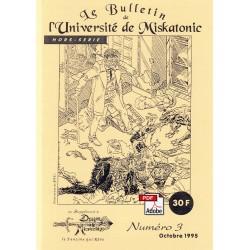 Le Bulletin de l'Université de Miskatonic HS N°03 (1995)