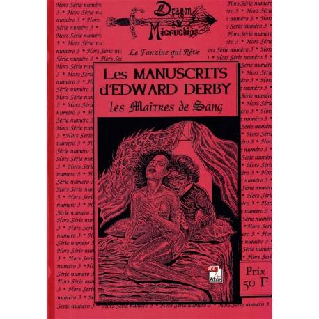 Les Manuscrits d'Edward Derby - Les Maîtres de Sang N°03 (1994)